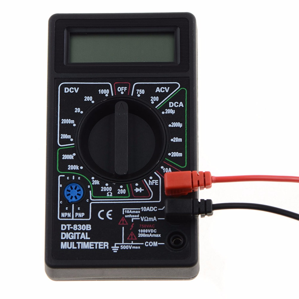 ANENG Mini Digital Multimeter with Buzzer Overload protection Pocket Voltage Amp