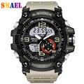2017 Reloj Digital de Los Hombres G Estilo Militar Deportes Relojes de Silicona de Moda A Prueba de agua Reloj Del Deporte LED Hombres Reloj digital-reloj