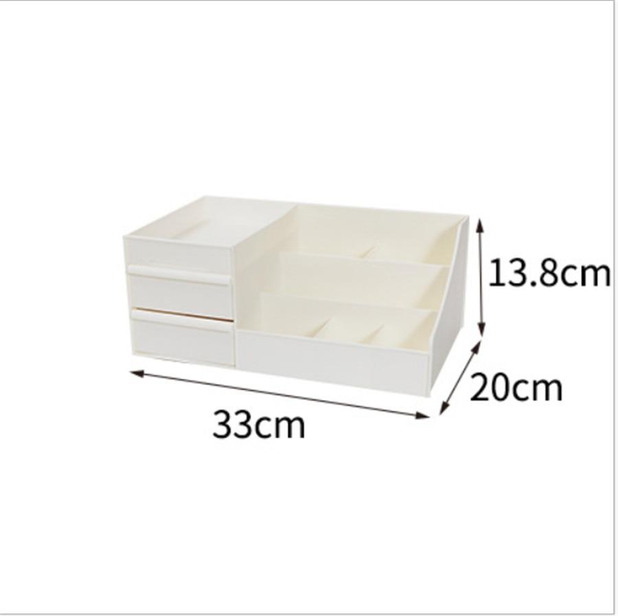 HTB1Y6mxXdfvK1RjSszhq6AcGFXaJ - Plastic Makeup Organizer Two-Layers Jewelry Box Acrylic makeup storage containers