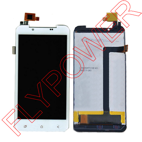 Touch screen with LCD Display internal display screen assembly Accessories White for 5.0 inch For PULID F17+ By free shipping black new original lcd display touch screen digitizer replacement assembly with tools for htc desire 500 free shipping