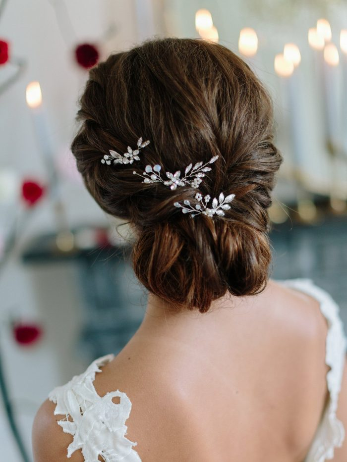 Delicate Bohemian Moonstone Bridal Comb Set 2019 Spring Summer New Trends Forecast