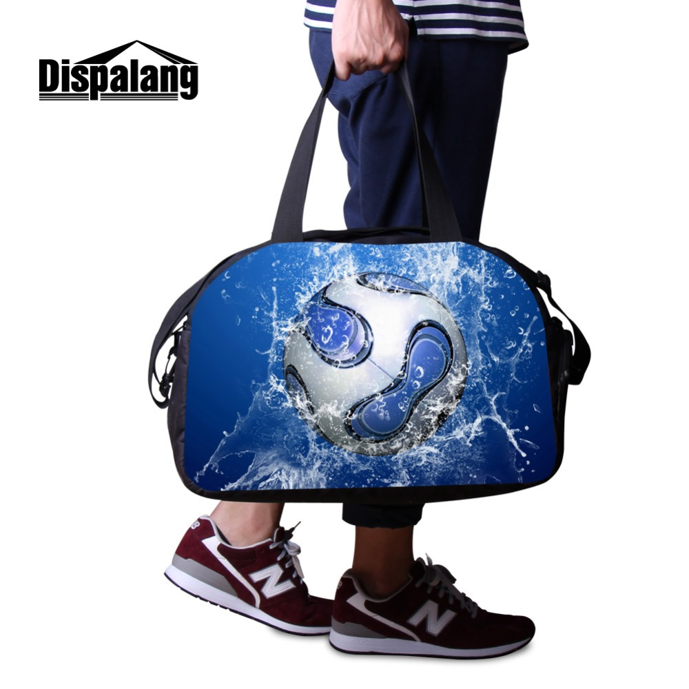 High Quality Cotton Fabric Travel Bags For Men Rugbyball Footballs Hand Luggage Bag Custom Basketballs Weekend Overnight Duffle