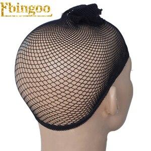 Image 3 - Parrucca sintetica marrone scuro per donna
