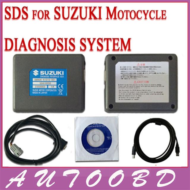 Nuevo profesional multi language SDS para Suzuki motocicleta diagnóstico del sistema para Suzuki SDS reparación de diagnóstico Auto Scanner Tool