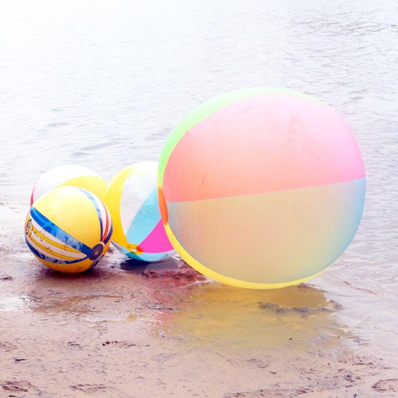 슈퍼 큰 80cm PVC 풍선 볼 아이 아이 에어 비치 볼 - 수상 스포츠 - 사진 3