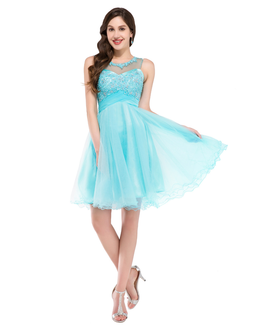 Blue Short Prom Dresses Ball Gown | Dress images