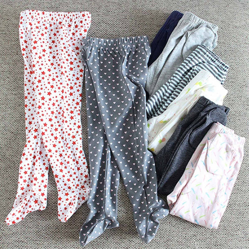 Baby Clothes Baby Pants Cotton Boys Girls Pants Autumn Infant Leggings Baby Newborn Girl Boy Sock Multifunctional Baby Trousers