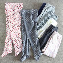 Ubranka dla dzieci spodnie dla niemowląt bawełniane spodnie dla chłopców dziewczęce jesienne legginsy dla niemowląt dziewczynka noworodek chłopiec skarpety wielofunkcyjne spodnie dla dzieci tanie tanio Bloom Baby Cartoon REGULAR YB712 Pełnej długości Unisex spandex COTTON Moda Pasuje prawda na wymiar weź swój normalny rozmiar