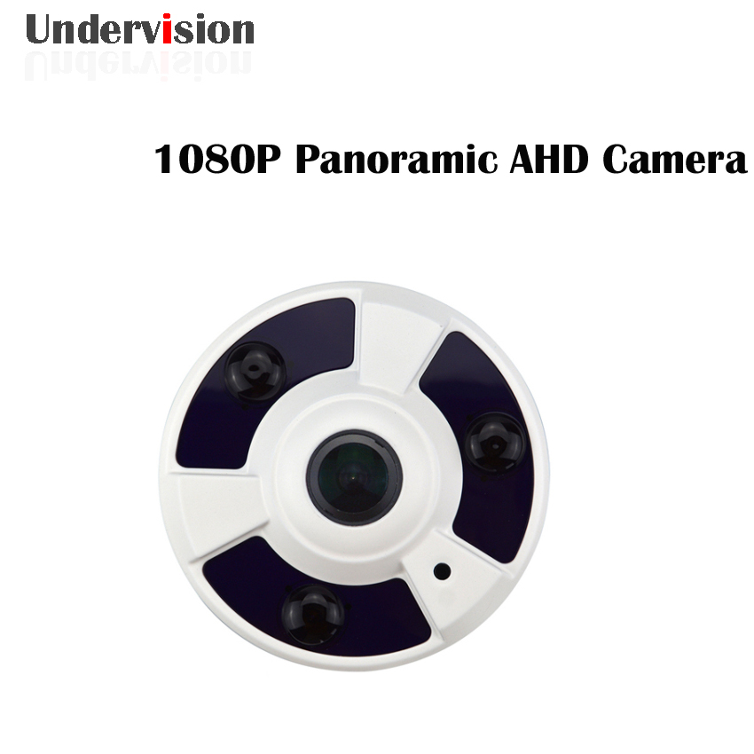 Panoramic fisheye Camera AHD 1080P cctv Camera  360 degree fisheye camera