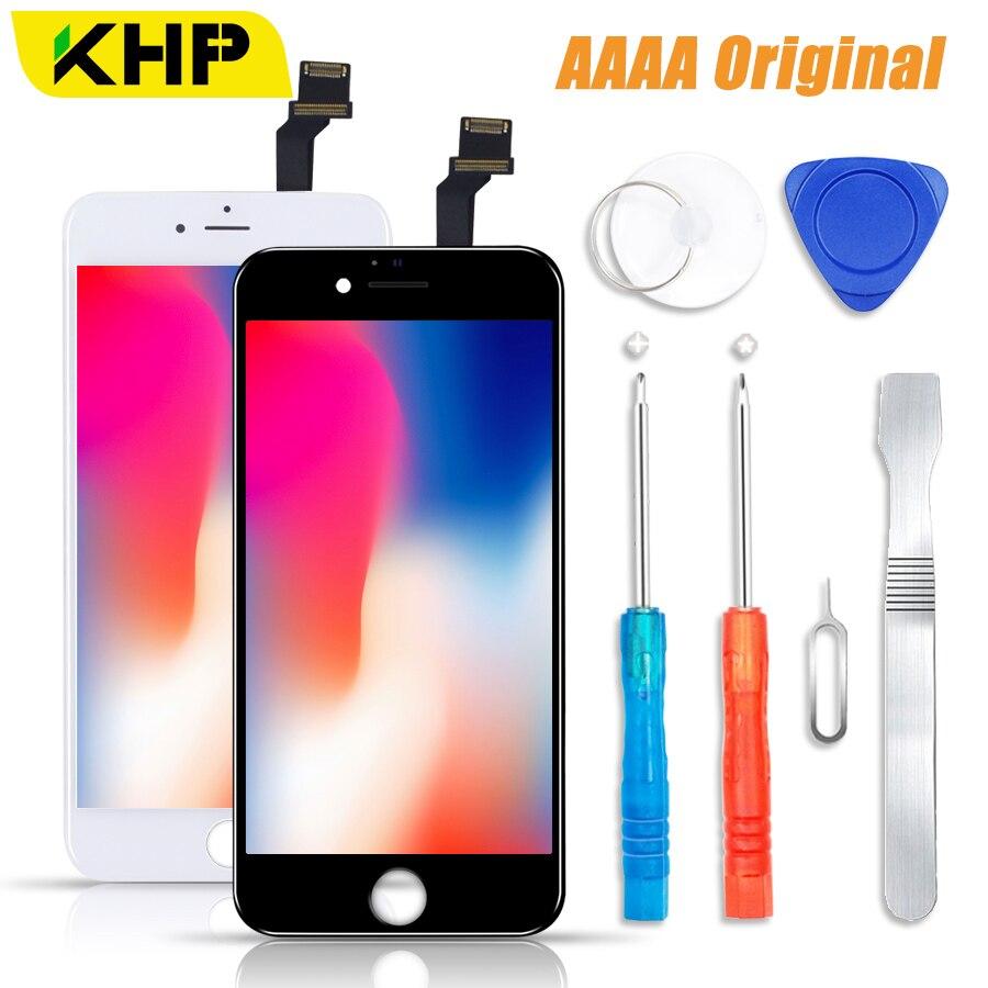2018 KHP 100% AAAA Original pantalla LCD para el iPhone 6 6 s Plus pantalla LCD pantalla táctil digitalizador para pantallas reemplazo LCD