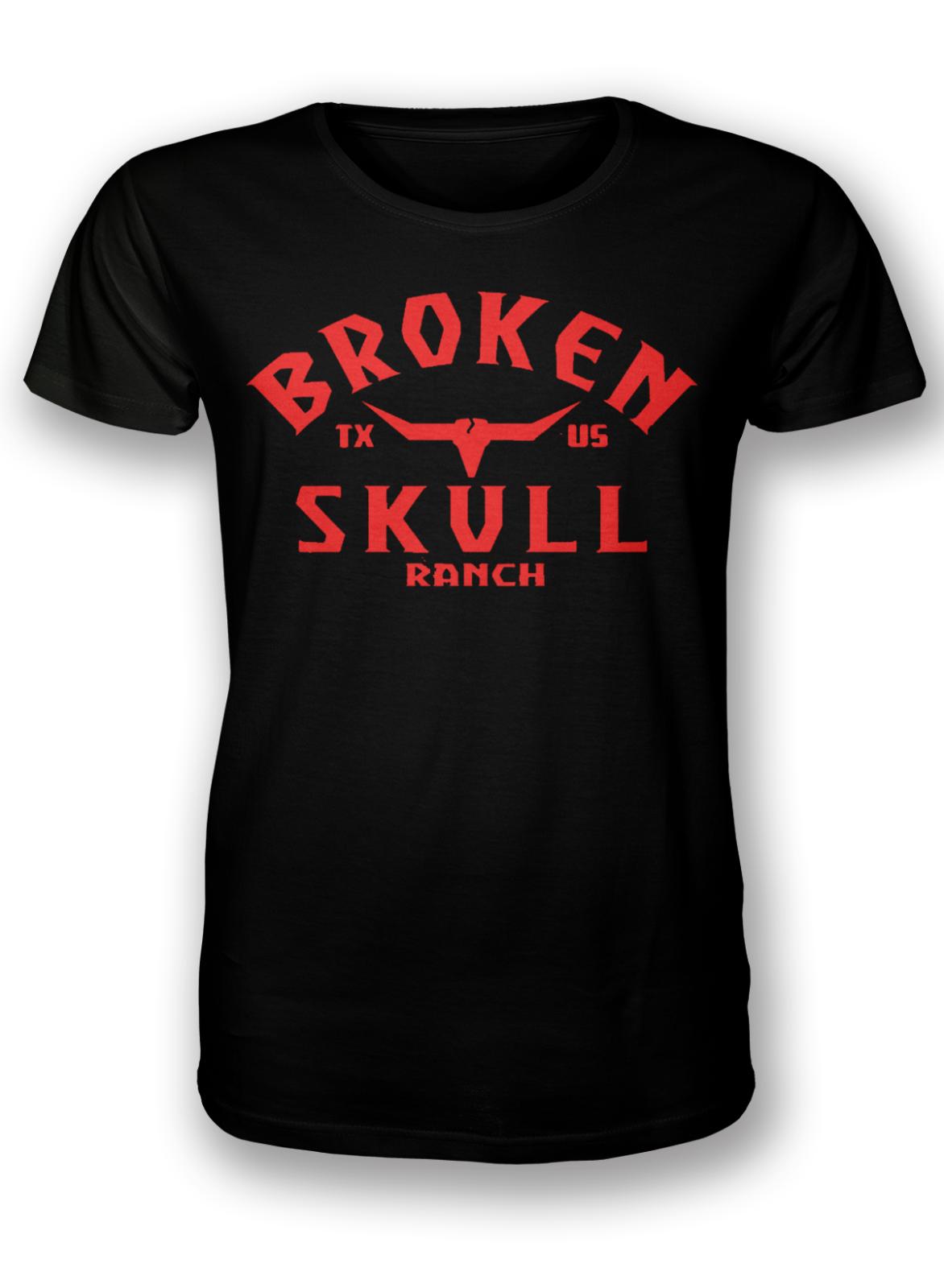 2018 Summer T Shirt Broken Skull Ranch,Deer Head, Stone Cold O Neck Shirt Plus Size T-shirt