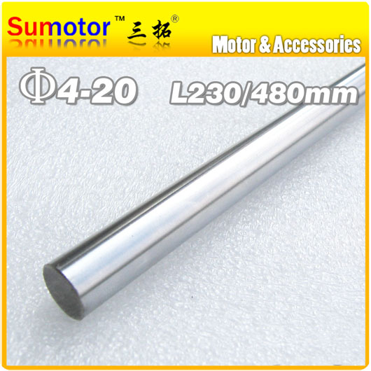 D20 L480 Diameter 20mm Length 480mm 45# Steel shaft Toy axle transmission rod DIY axis Chrome Plated axis for CNC XYZ трехколесный велосипед lexus trike next pro ms 0521 синий