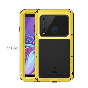 Untuk Samsung Galaxy A9 2018 Case Love Mei Shock Tanah Bukti Tahan Air Logam Armor Cover Case Telepon untuk Samsung galaxy A9s