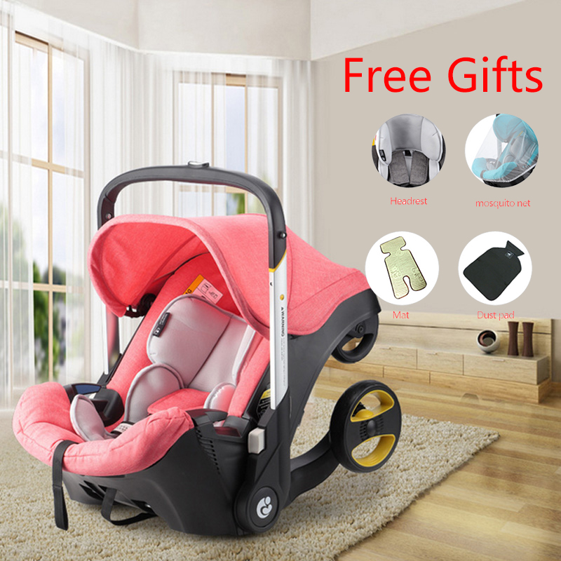 4 In 1 Car Seat Stroller Newborn Baby Carriage Baby Bassinet Wargen Portable Travel System Stroller with Car Seat Baby 0-4 Years4 In 1 Car Seat Stroller Newborn Baby Carriage Baby Bassinet Wargen Portable Travel System Stroller with Car Seat Baby 0-4 Years