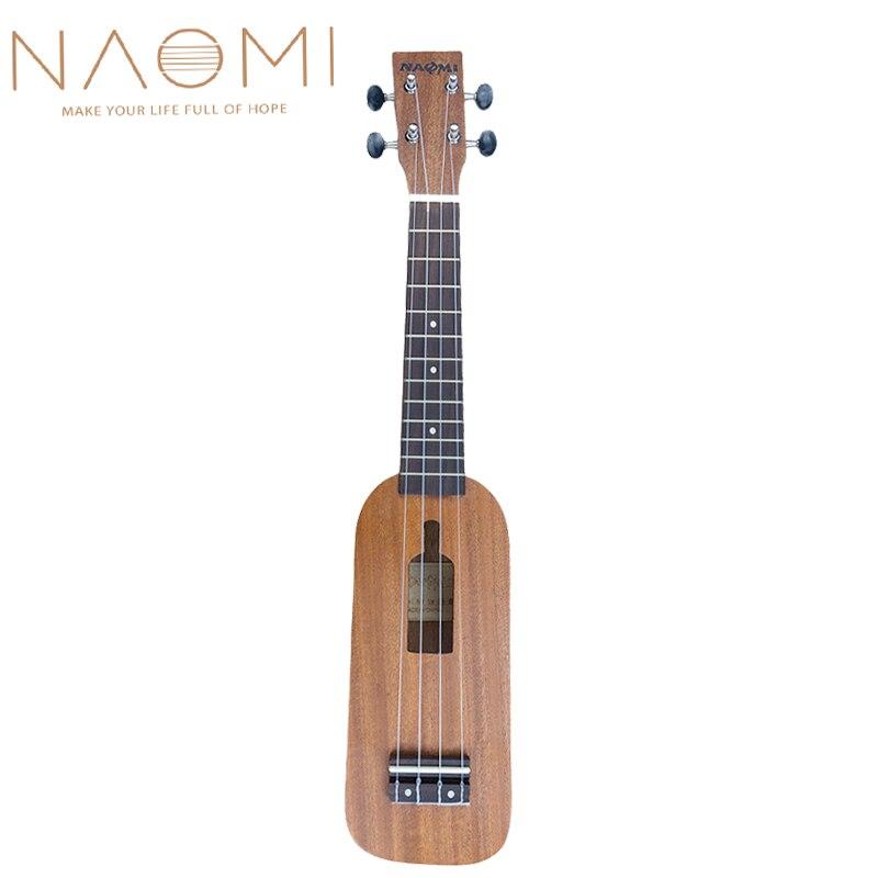 Naomi 10 Pcs Ukulele Fingerboard For 21 Inch Soprano Ukulele 4 String Guitar Rosewood Fretboard Ukulele Parts Accessories New Sports & Entertainment