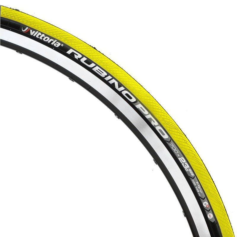 Vittoria Rubino Pro G Tubular Black Tire 700 x 25