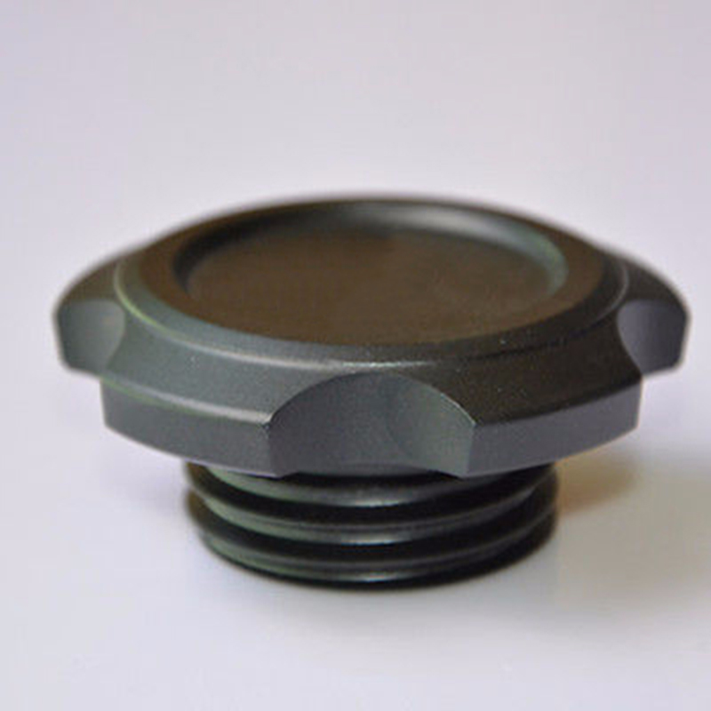 NEW Blcak Aluminium Engine Oil Filler Caps Cover Plug for Subaru WRX - Bahagian auto - Foto 4