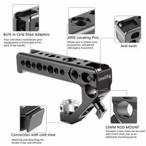 Image 3 - SMALLRIG トップハンドルコールドシューハンドル 汎用 ハンドルキット 撮影ハンドルグリップ カメラハンドル 2094