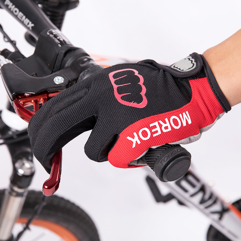 Bicycle Glove Winter Cycling Gloves Touch Screen GEL Bike Gloves Sport Shockproof MTB Road Full Finger For Men Woman Long Finger
