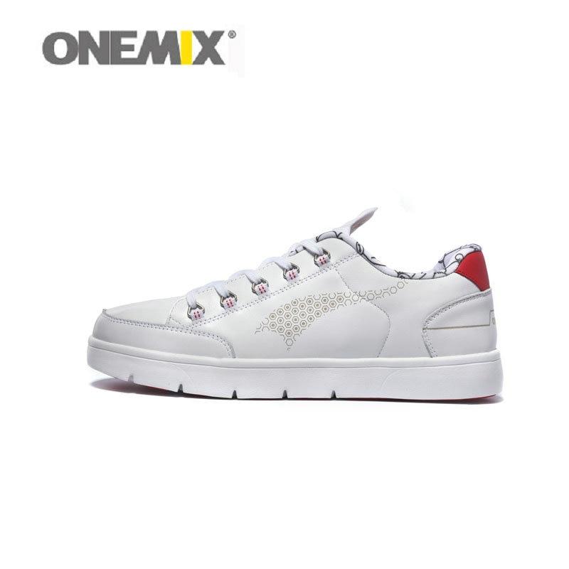 Prix pour Nouveau design Onemix marque hommes conseil chaussures top couche vache de planche à roulettes Chaussures bas supérieur filles sport chaussures en gros 1108