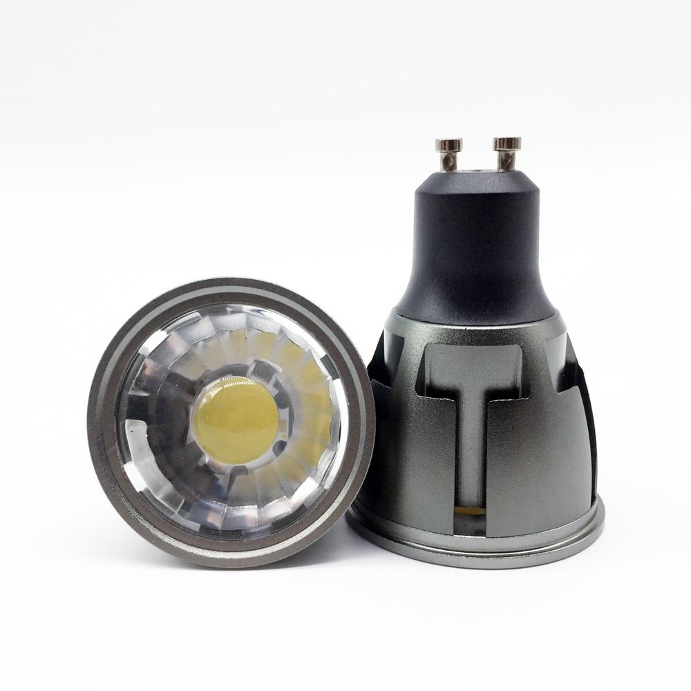New arrivel GU10 COB dimmable 6W 9W 12W 85~265V GU10 LED Bulbs Spotlight spot light led Lamp Lampada CE/RoHS Warm/Cool White