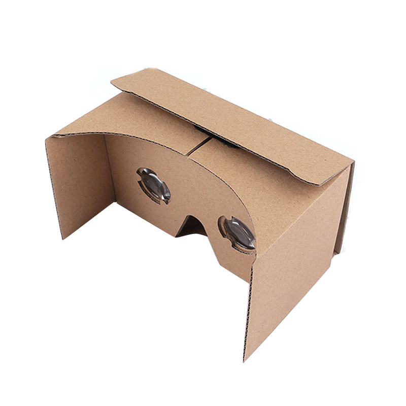 DIY Virtual Reality Glasses VR Box Headset Google Comfortable 3D Glasses DIY Cardboard VR Box For iPhone Android Phones #3