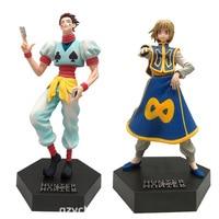 Hunter X Hunter PVC Action Figure Hisoka Kurapika Model Toys Anime Hunter X Hunter Figurine Diorama Collection Toy
