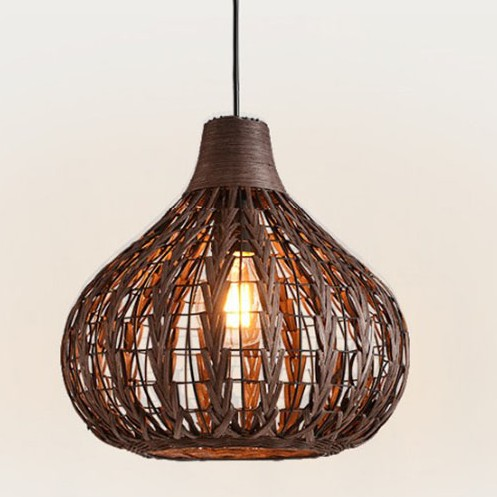 Bamboo Rattan pendant lights Hotel lighting simple modern Garden bar coffee clothing shop pendant lamps D35CM ZA zb62 new arrival modern chinese style bamboo wool lamps rustic bamboo pendant light 3015 free shipping