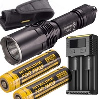 Tiny Monster Series Nitecore TM03 TM03CRI CREE XHP70 LED Tactical Powerful Flashlight 2800 Lumens with Free 18650 Battery