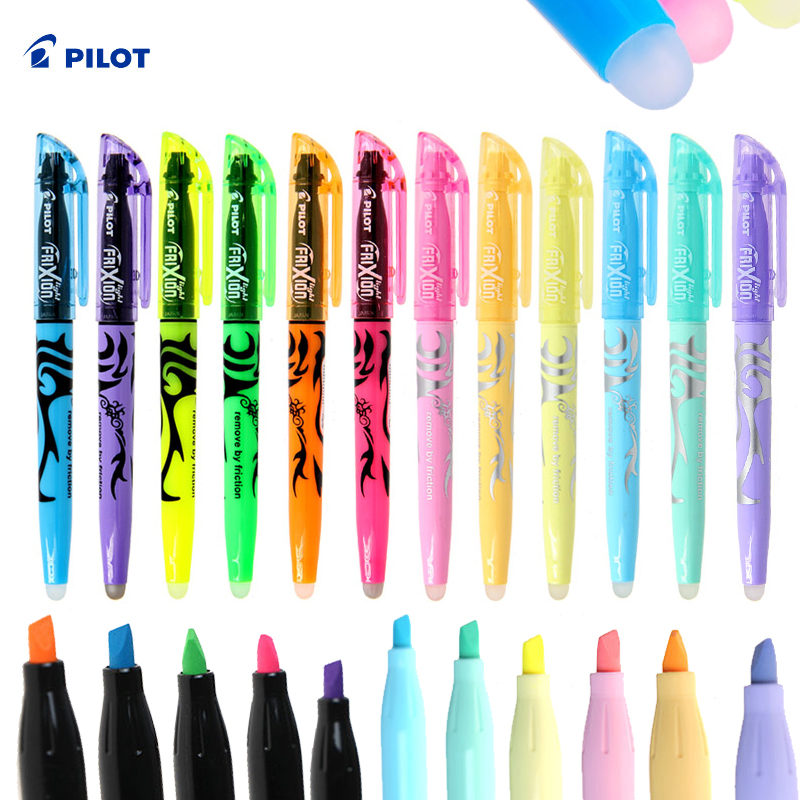 Us 38 7 Japan Pilot Frixion Erasable Pen 12 Pcs Lot 12 Colors To Choose Sw Fl Marker Pen Office And School Stationery Free Shipping In Gel Pens From