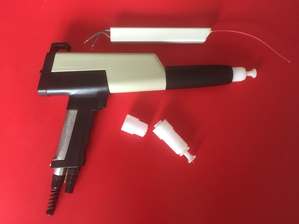 Manual Electrostatic Powder Coating Gun For Gema+cascade+nozzle