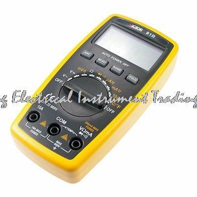Fast arrival VICTOR 81B 3 1/2 Digital Multimeter AC DC Resistance Victor Multimeter