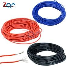 Câble électrique crochet-up 10 M 10 M UL-1007, 24 AWG, rouge/noir/bleu/jaune, 80c/300V, bricolage-même