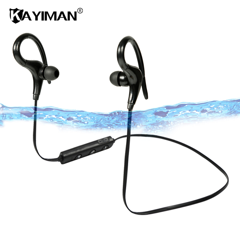 Ear Hook Bluetooth Earphone Wireless Sport Running Stereo In-ear Earphone with Microphone Earphone for Phone Sumsang Xiaomi
