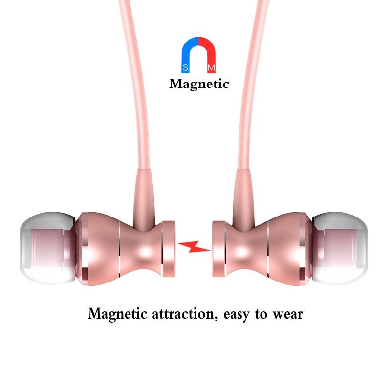 마그네틱 이어폰 헤드폰 금속 헤드셋 뜨거운 판매 - 휴대용 오디오 및 비디오 - 사진 5