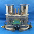 NEW 48 IDF 48IDF CARBURETTOR CARBY  oem carburetor + air horns replacement for Solex Dellorto Weber EMPI