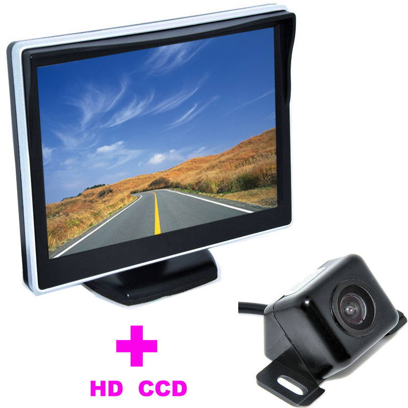 ᓂ2 w 1 Auto Assistance Parking System 5 TFT LCD Monitor ...