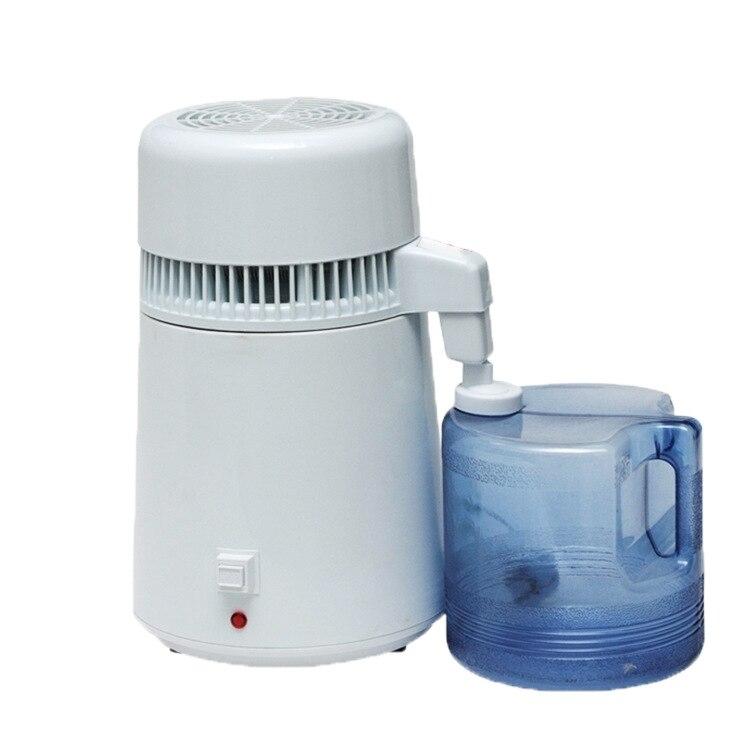 Usine d'acier inoxydable d'équipement d'épurateur de Distillation dentaire de Machine distillée par eau de filtre de distillateur d'eau Pure de 4L - 4