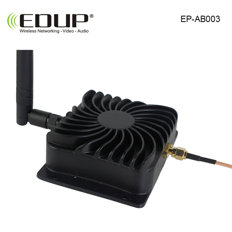 EDUP EP-AB003 2.4Ghz 8W 802.11n Wireless Wifi Signal Booster Repeater Broadband Amplifiers for Wireless Router wireless adapter 2 4ghz 8w wlan wifi wireless broadband amplifier signal booster for rc radio extend the distance
