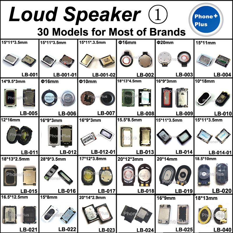 30Model 60PCS Loud Speaker Buzzer Ringer With Gift Screws For All Cellphone Compatible Used