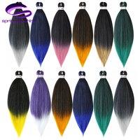Spring sunshine Synthetic Braiding Hair 24 EZ Jumbo Braids Hair Ombre Crochet Braiding Hair Easy Braid Hair Extension