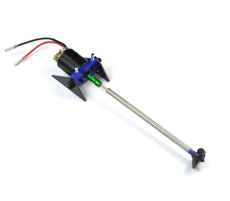 Free Shipping 540 Motor kit Motor+Motor seat+Coupling+Shaft+Propeller set for RC Boat model free shipping 380 boat motor with shaft propeller kit shaft assembly spare parts for diy rc electric boat model 10 15 20 25 30cm