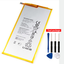 Original HB3080G1EBW 4650mAh Tablet PC Battery For Huawei S8-701uT1-821W T1-823l M2-803L S8 701U S8-701W white black style original ipartsbuy tablet pc touch screen replacement for huawei mediapad t1 8 0 s8 701u free shipping