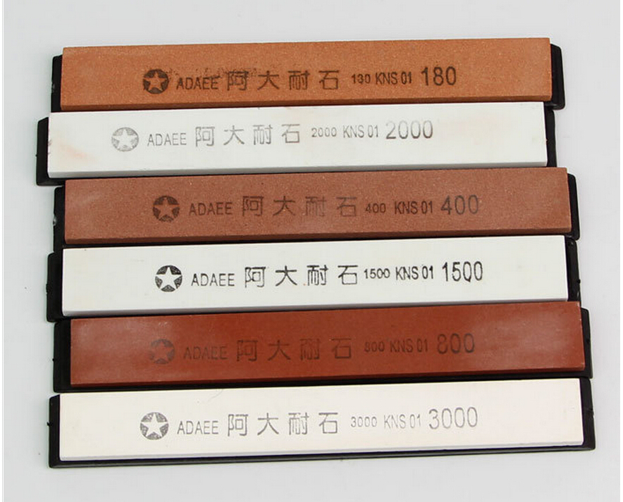 6 шт./партия точильный камень профессиональная точилка для ножей Система точильный камень H0816F1