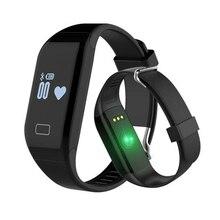 Новый H3 Смарт Браслет и монитор сердечного ритма фитнес-трекер активности браслет для iOS и Android-смартфон PK JW018 Mi band