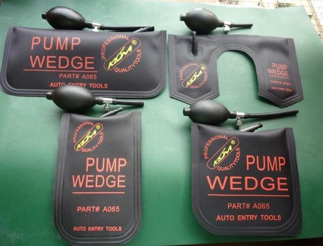 4pcs lot Best Original klom locksmith tools black air pump wedge Professional Diagnostic Tool