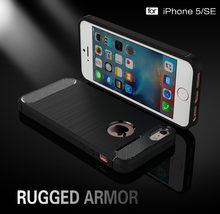funda for fundas iphone 7 Case Silicon Soft Carbon Fiber Brushe Ring Magneti Cover Case for iphone 6 6s 7 8 Plus X XS MAX Funda(China)