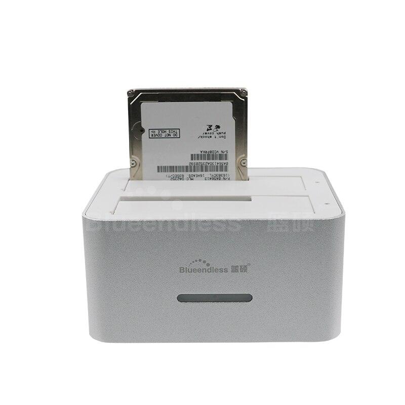 1 stücke hdd gehäuse box für 2 bay 4 TB pro sata...