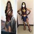 Batman v Superman : amanecer de justicia Diana Prince mujer maravilla traje Cosplay