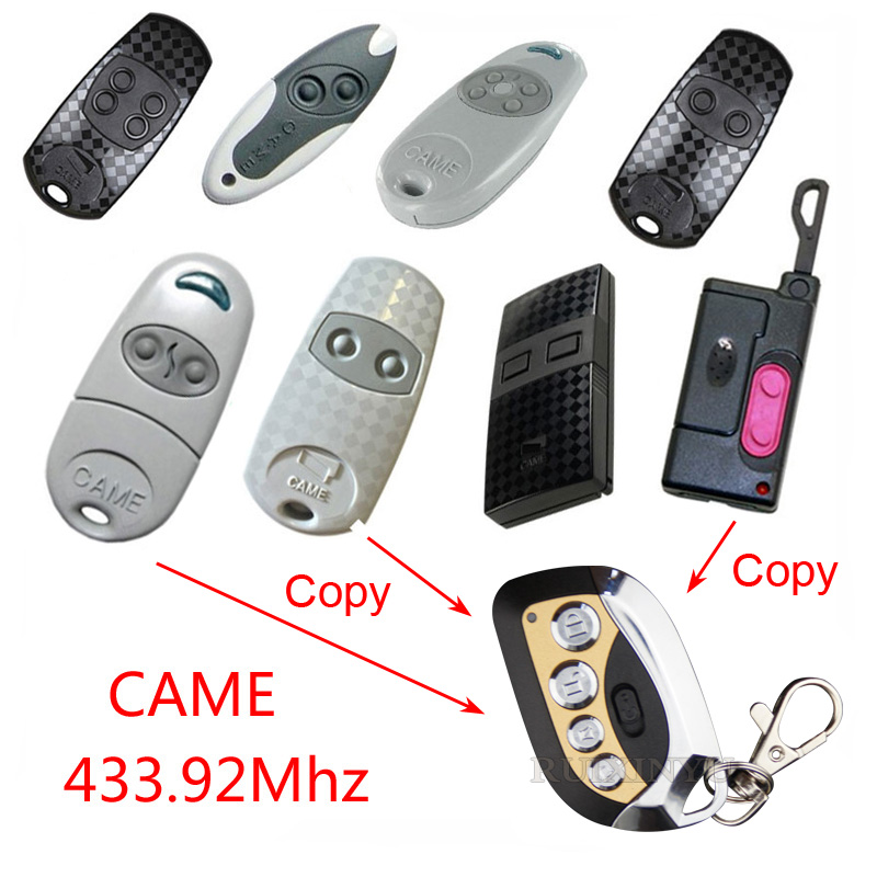 copy CAME TOP432EE TOP432EV TAM432SA T432S remote control Duplicator 433.92mhz remote control Universal Garage Door Gate Fob copy came top432na garage door remote control universal 433mhz gate remote control came top432 na